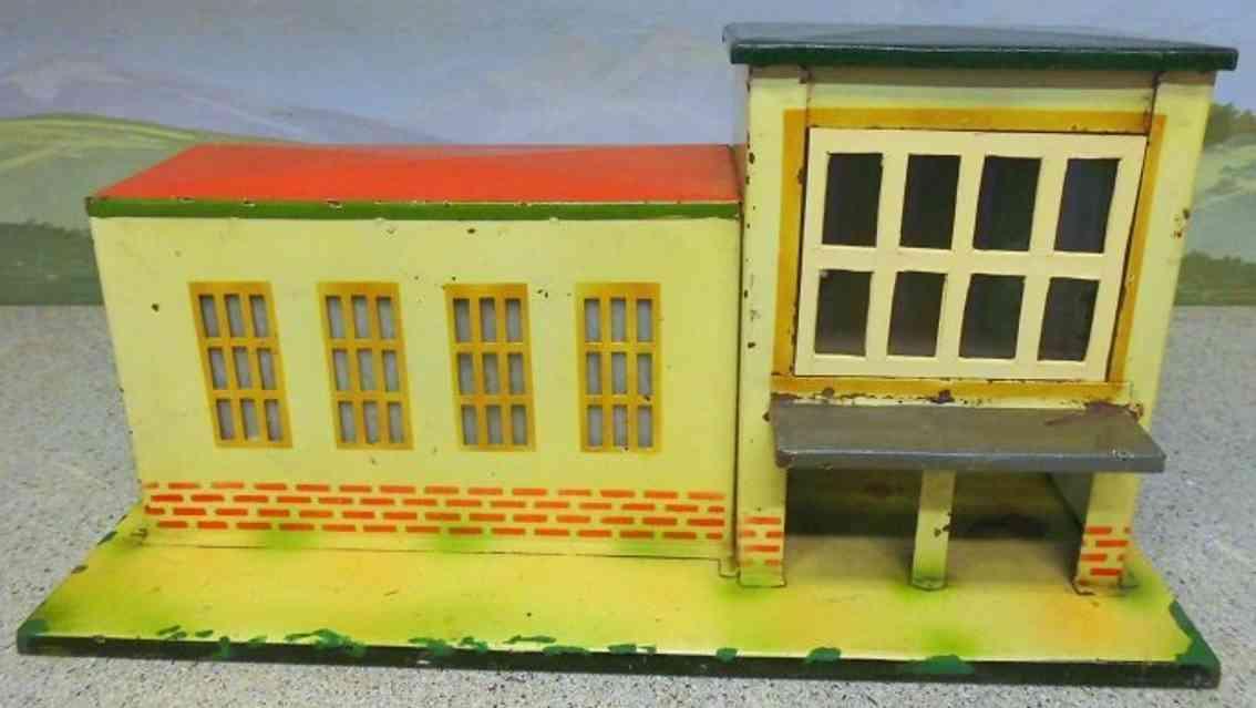 kibri toy railway station with glass windows