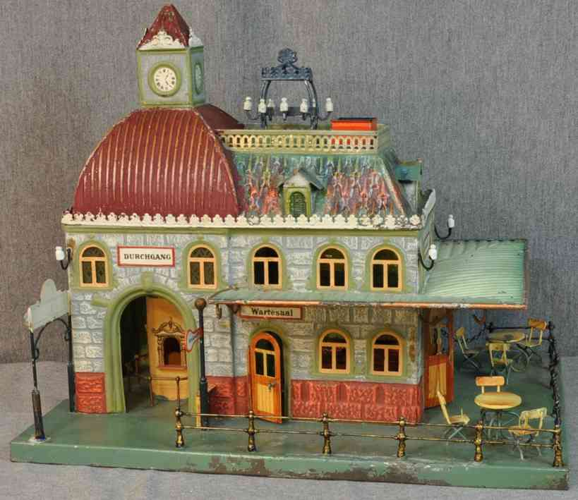 marklin maerklin 02015 toy train station without entrance hall