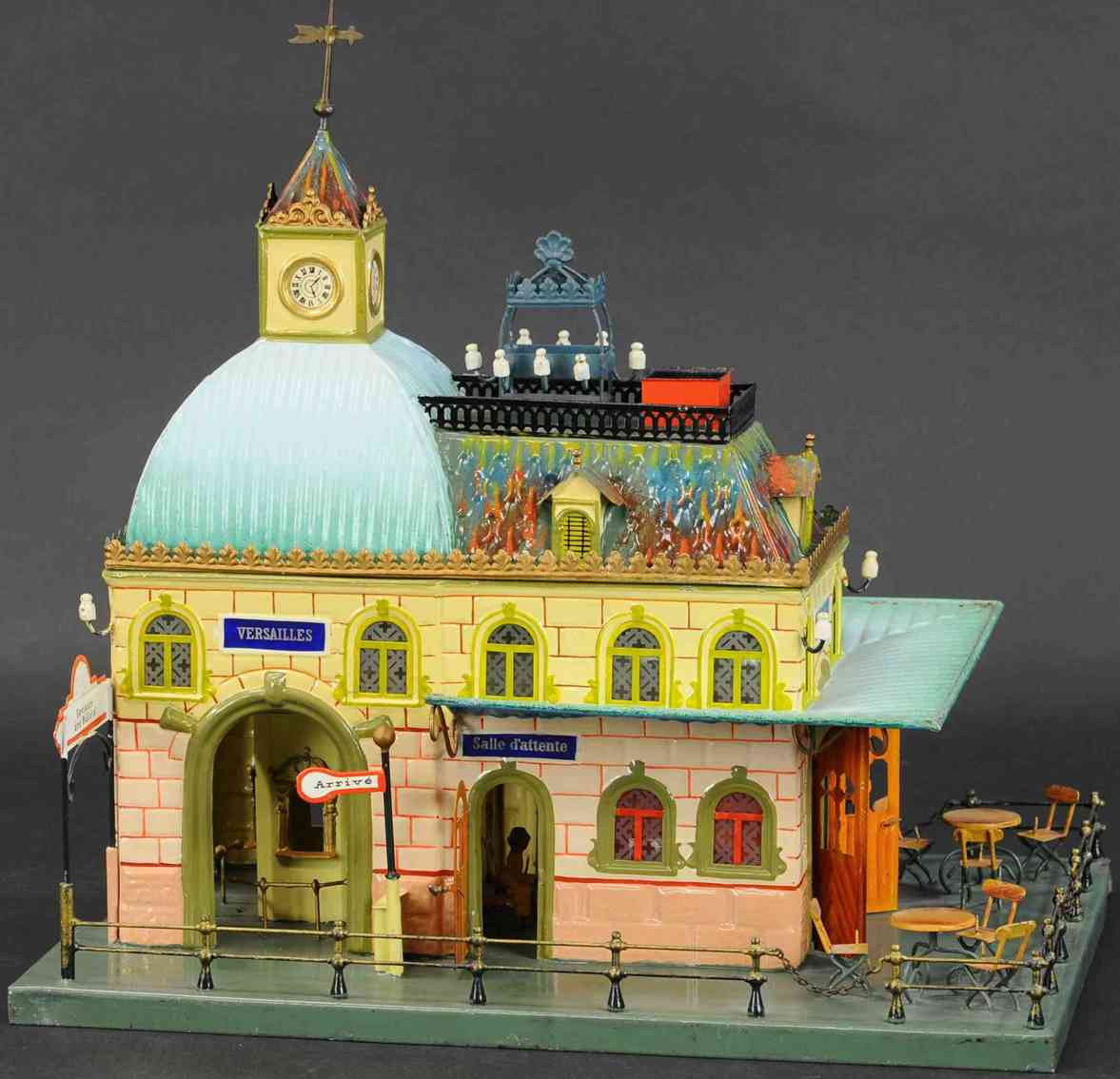 marklin maerklin 02015 toy french train station without entrance hall