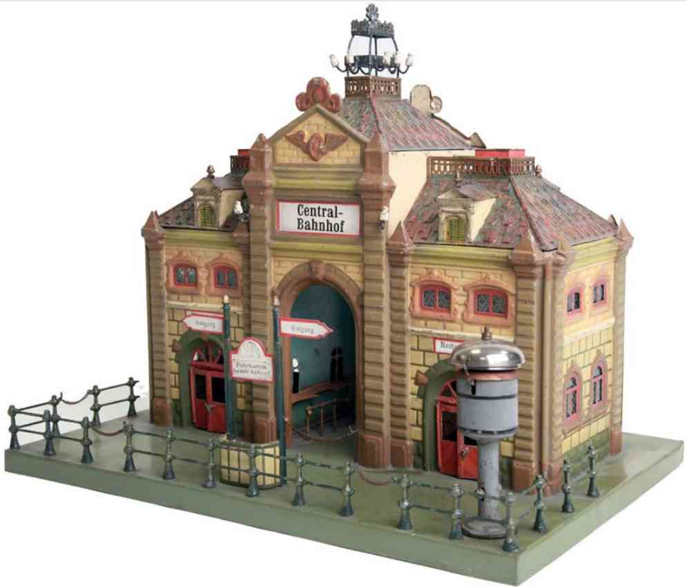 marklin 02016 toy central station without entrance hall