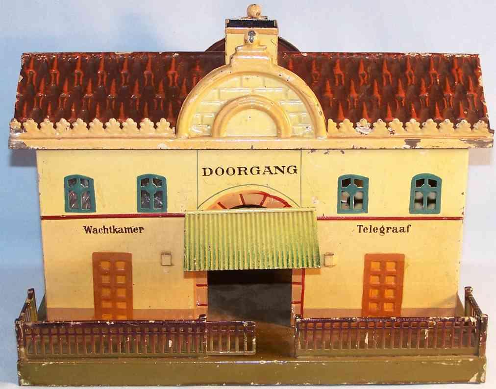 maerklin 2001 ef spielzeug eisenbahn hollaendischer bahnhof centraal station
