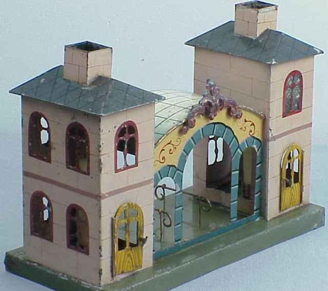 maerklin 2003 2040 1900 spielzeug eisenbahn bahnhof 2 seitengebaeude