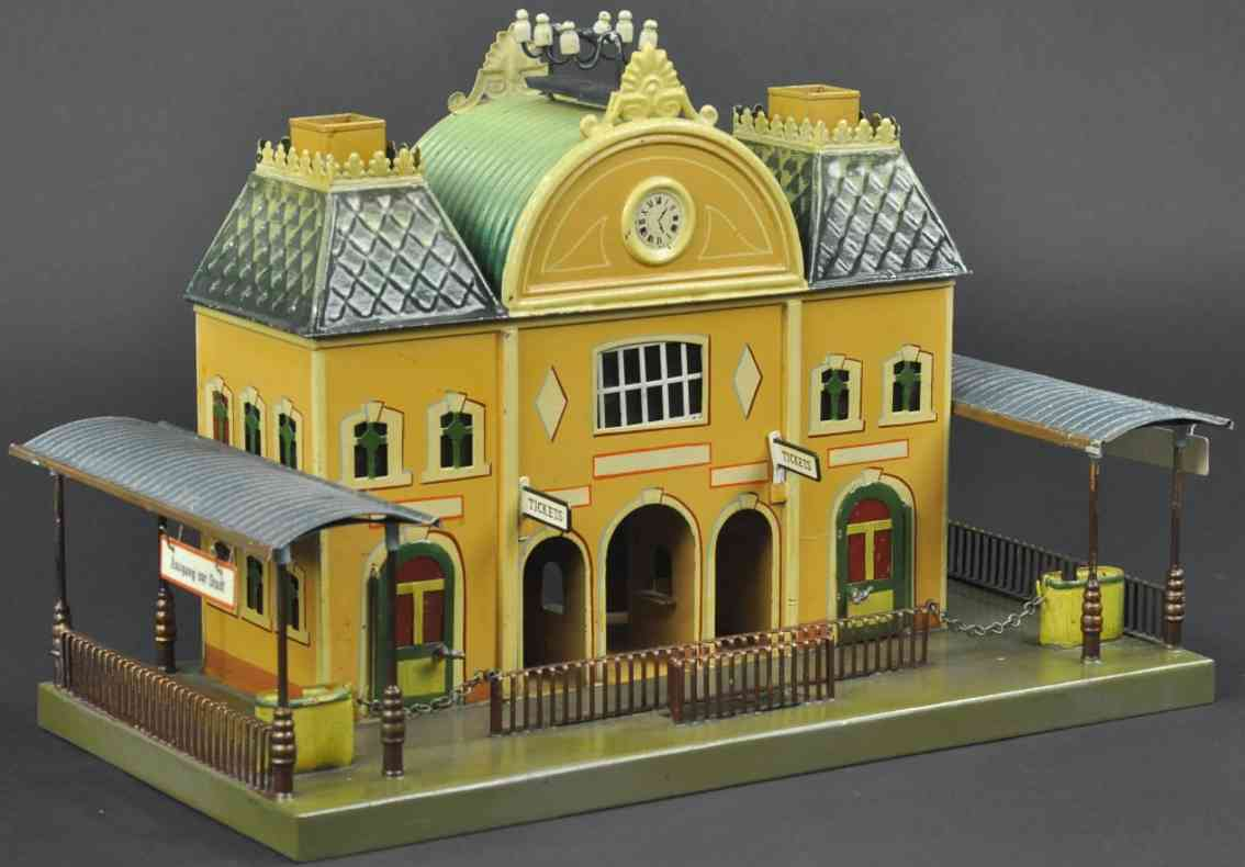 maerklin 2006 hollaendischer bahnhof derste generation zwei seitenhallen