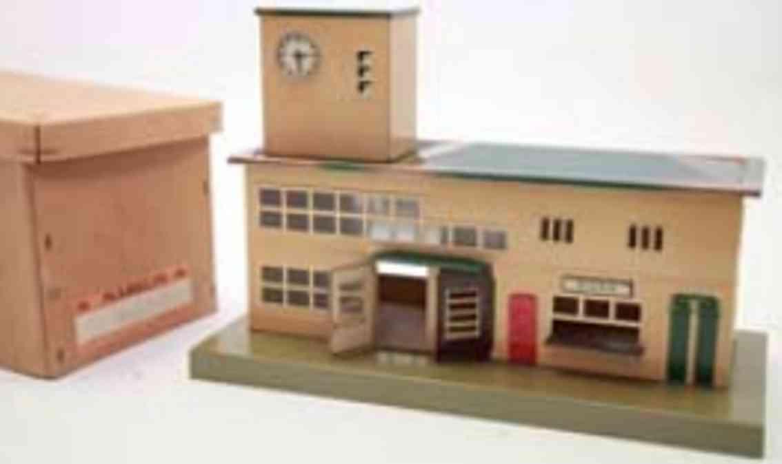 marklin 2011 b toy railway station gauge 0
