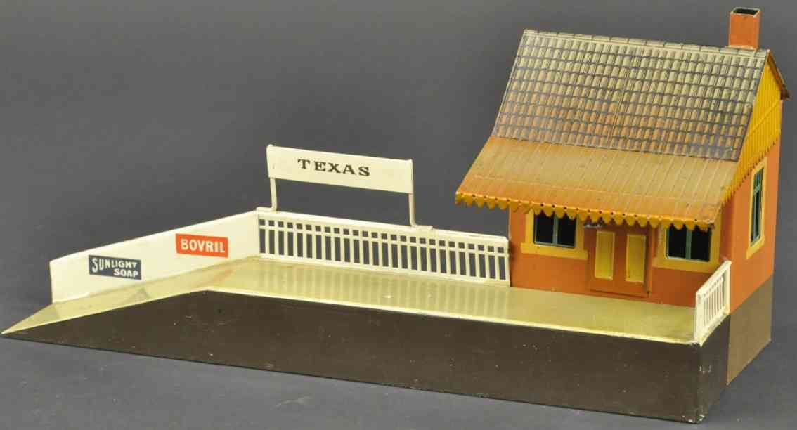 maerklin 2041 spielzeug eisenbahn amerikanischer vorortbahnhof texas