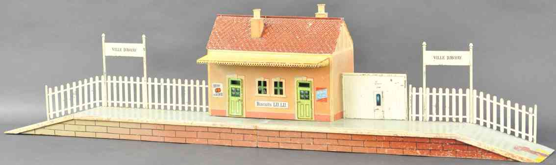 marklin maerklin 2842/2 toy french country station ville d'avray
