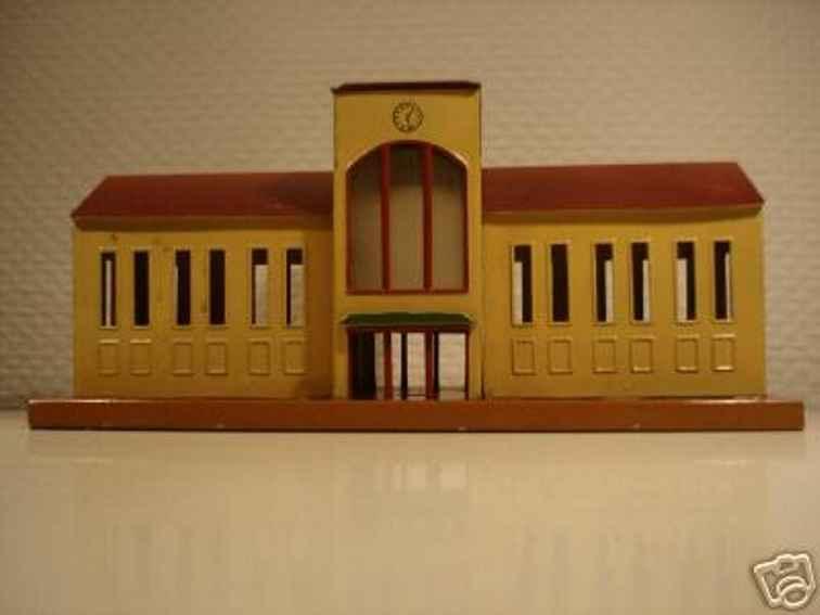 maerklin 416 spielzeug eisenbahn grossstadtbahnhof beige