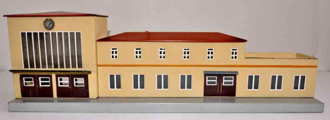 maerklin 419-2 spielzeug eisenbahn bahnhof