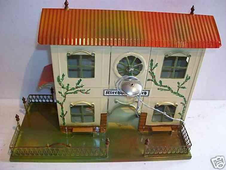 tucher & walther railway toy sheet railway station kirchheim/teck
