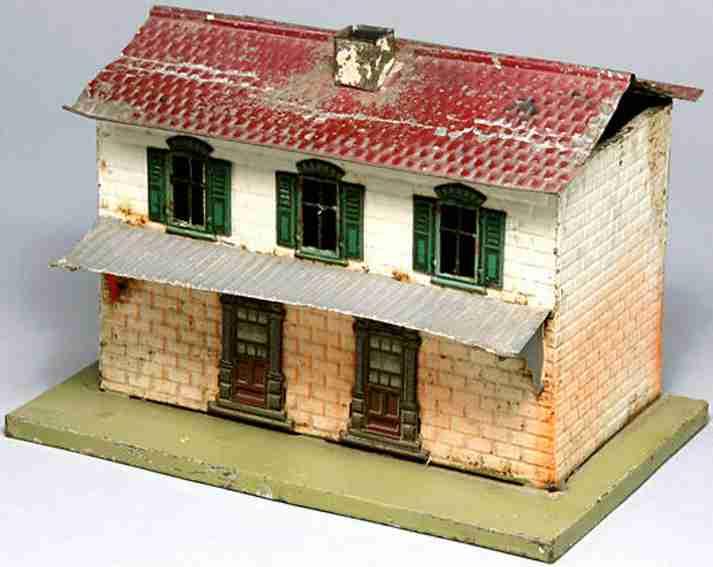 toy railway station