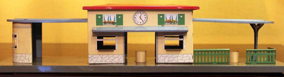 wimmer heinrich hwn 0/52/61 spielzeug eisenbahn bahnhof terrasse kiosk