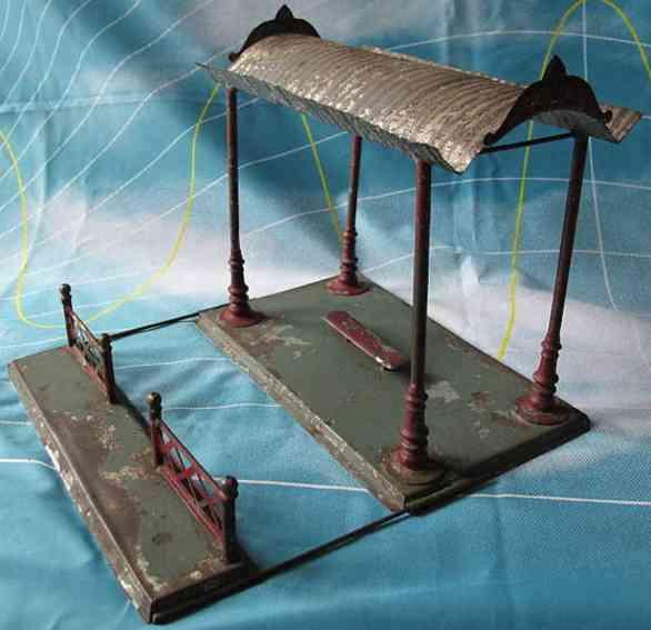 carette railway platform toy platform