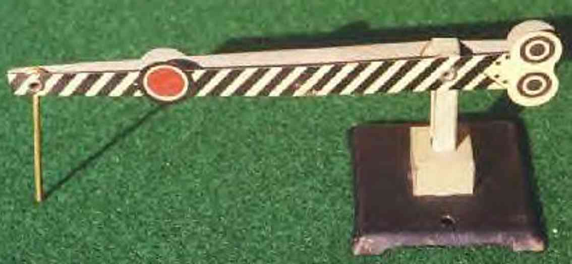 ives 1559 spielzeug eisenbahn bahnsteig bahnhalle schranke