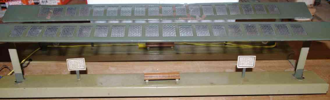 kibri 0/53/2 B railway platform toy platform illuminated gauge 0