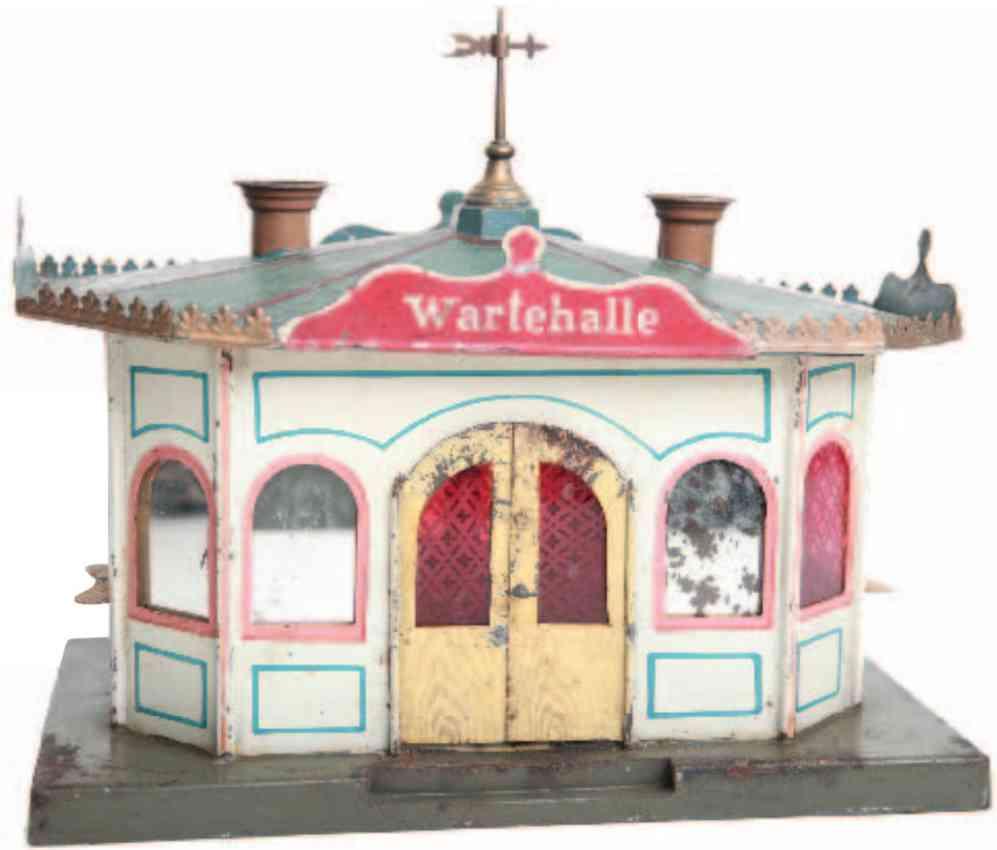 marklin maerklin 1501 railway toy waiting hall