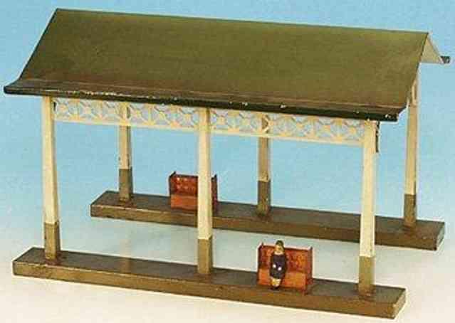 maerklin 2057/0 spielzeug eisenbahn bahnhalle einsteigehalle