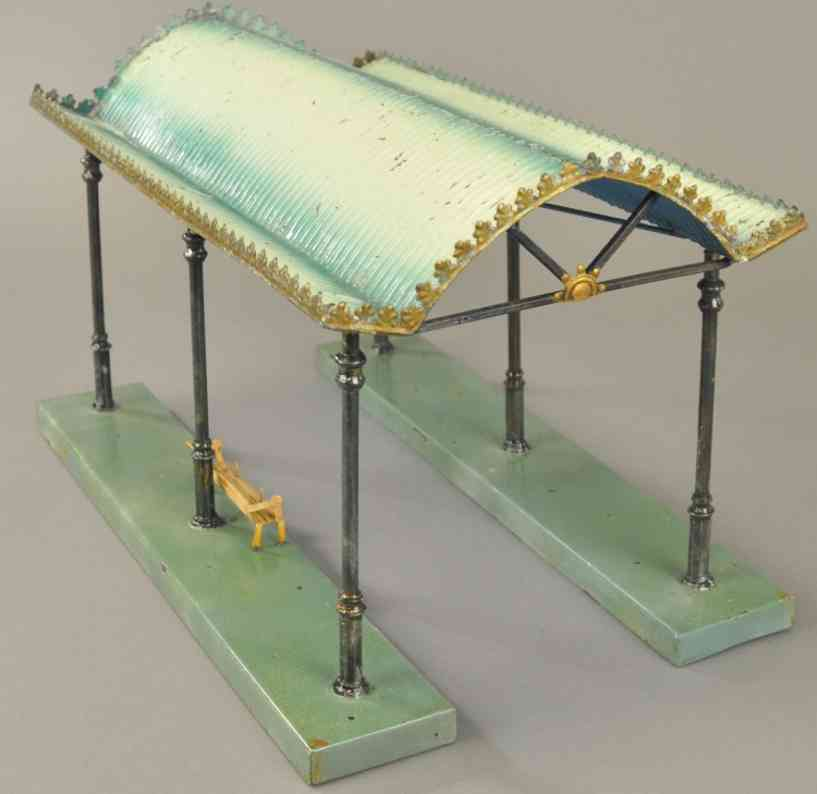 marklin 2061/38 2621 railway toy canopy platform green gauge 1