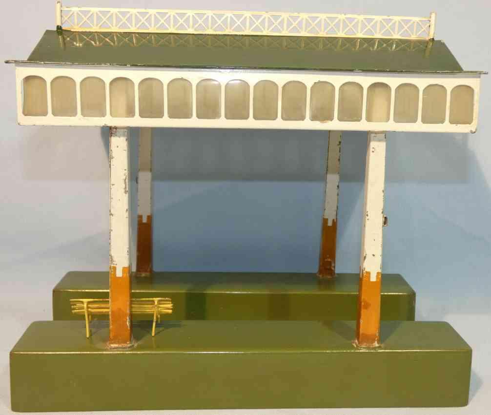 maerklin 2062/26 spielzeug eisenbahn 3-teilige einsteigehalle