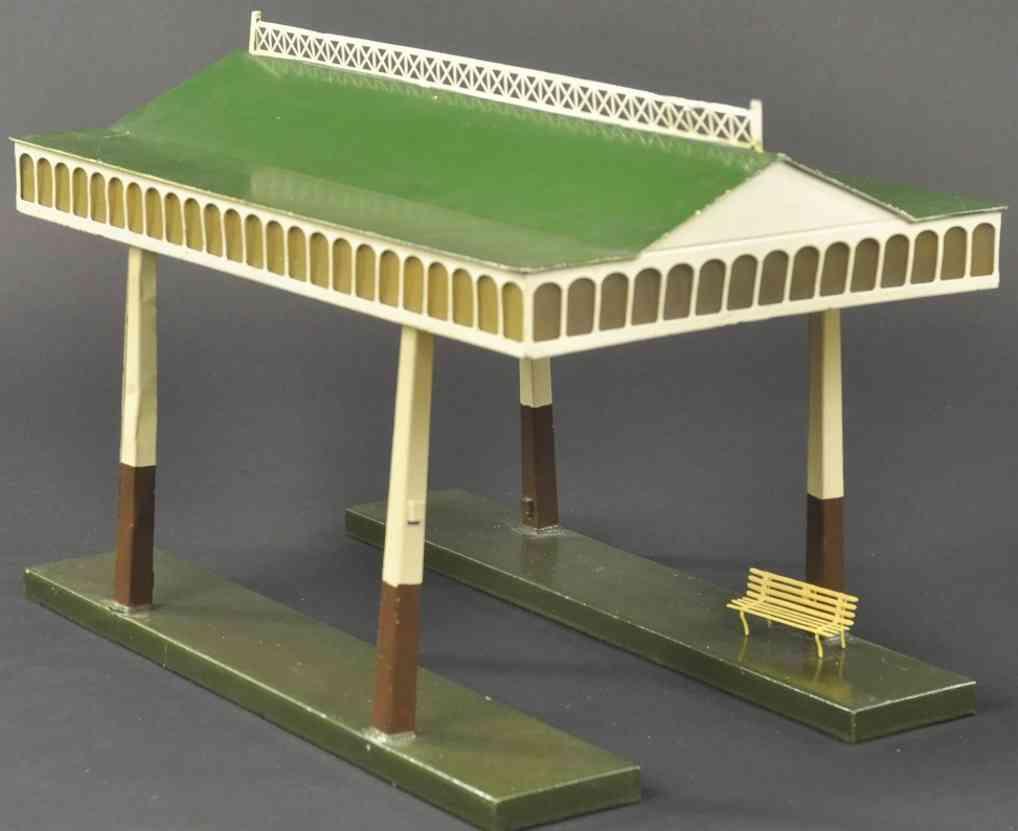 maerklin 2062/36 spielzeug eisenbahn bahnsteig bahnhalle einsteigehalle