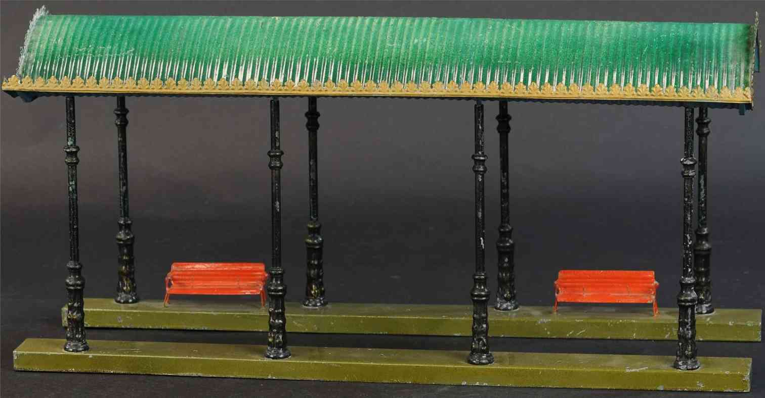 marklin 2061/53 2631 railway toy entrance hall eight profile columns