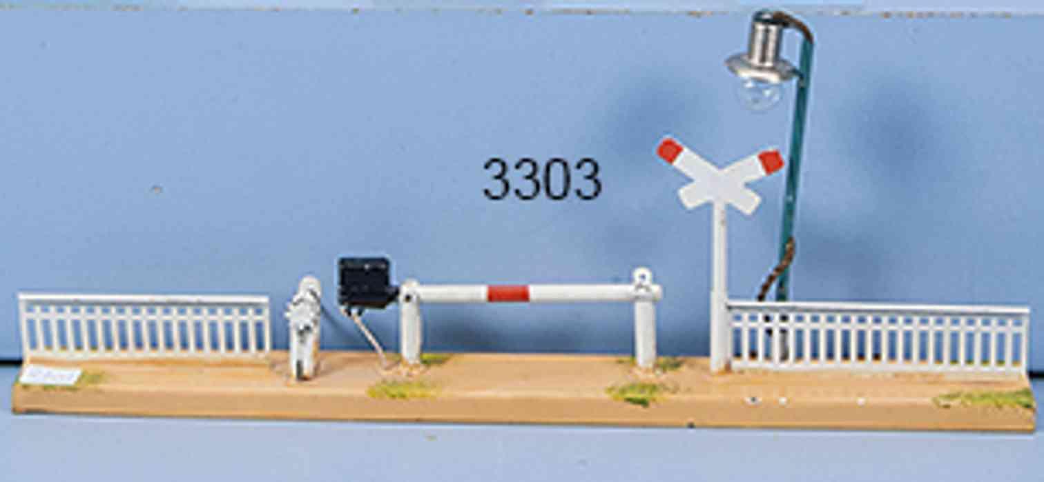 marklin 2219/0 b railway toy grating barrier bar arc lamp