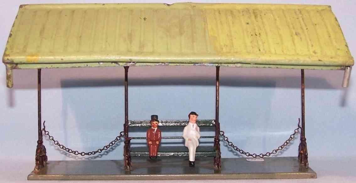 maerklin spielzeug eisenbahn bahnsteig bahnhalle seitenhalle