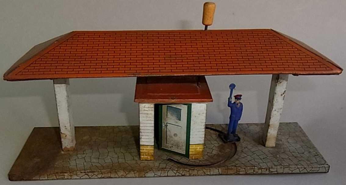 Wimmer Heinrich HWN Platform with train dispatcher