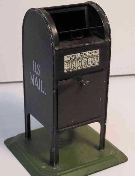 bing 535/17 spielzeug eisenbahn amerikanischer briefkasten