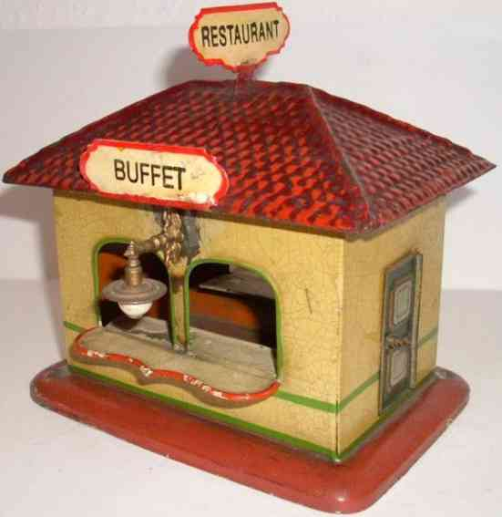 bing 7015 railway toy railway station kiosk