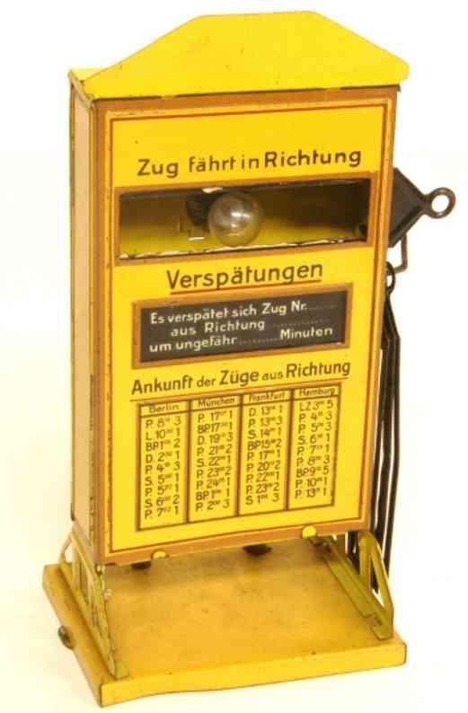 karl bub 1690/1 spielzeug eisenbahn richtungsanzeiger gelb
