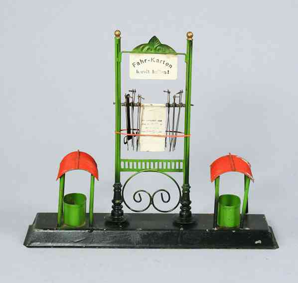 karl bub 687/1 railway toy advertiser driving direction and delay indicator