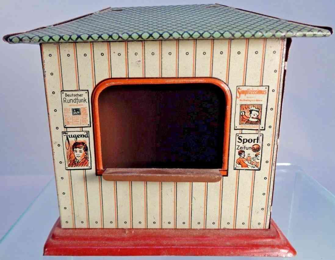 bub railway toy news stand