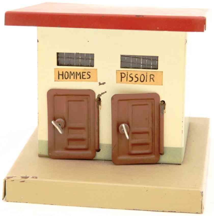 kibri 0/58/2 railway toy toilet house france