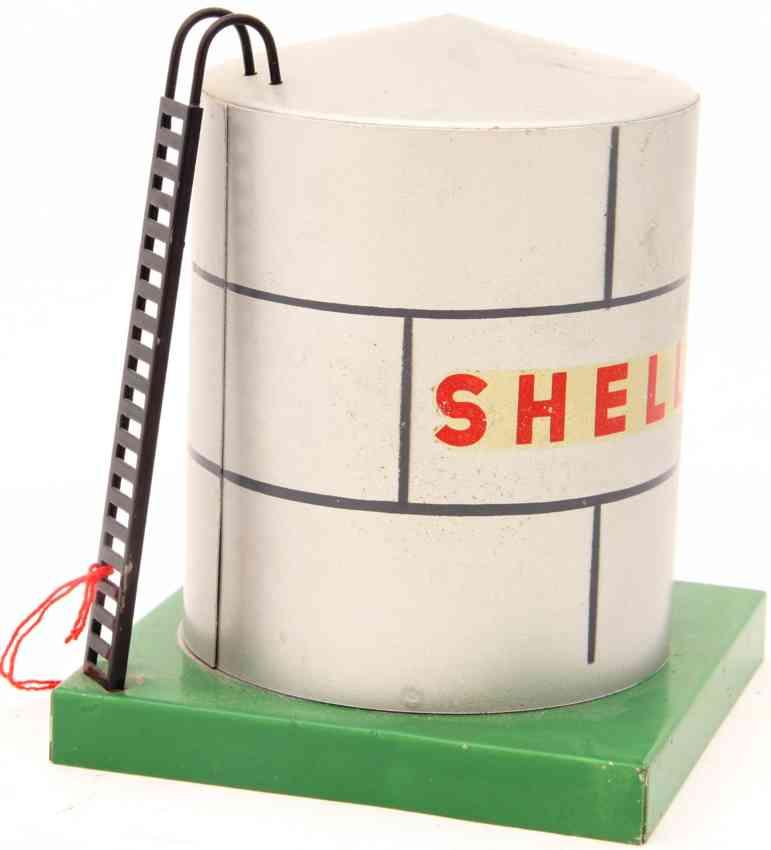 kibri 0/59 railway toy platform accessories petrol tank shell