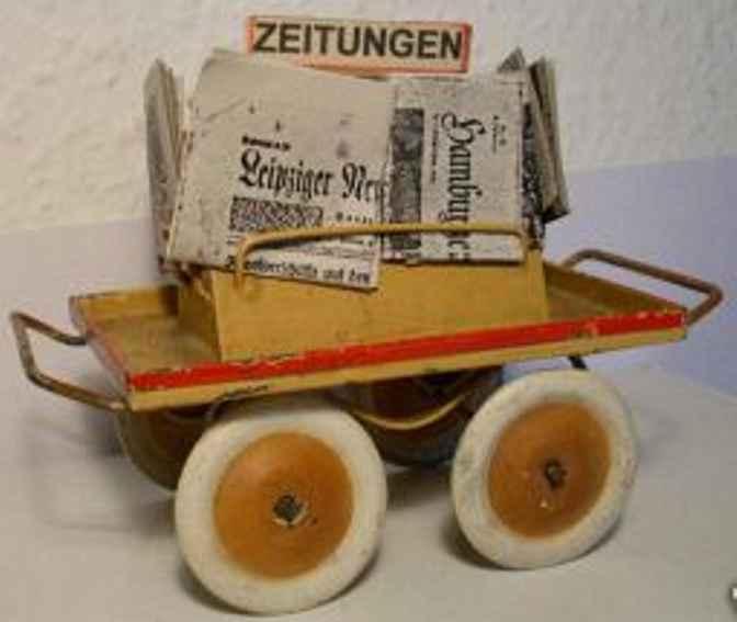 kibri 60/4 1/2 railway toy newspaper car