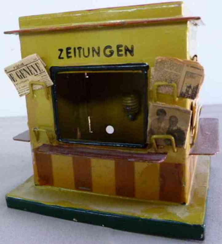 kibri 60/000 railway toy outbuilding newspaper kiosk