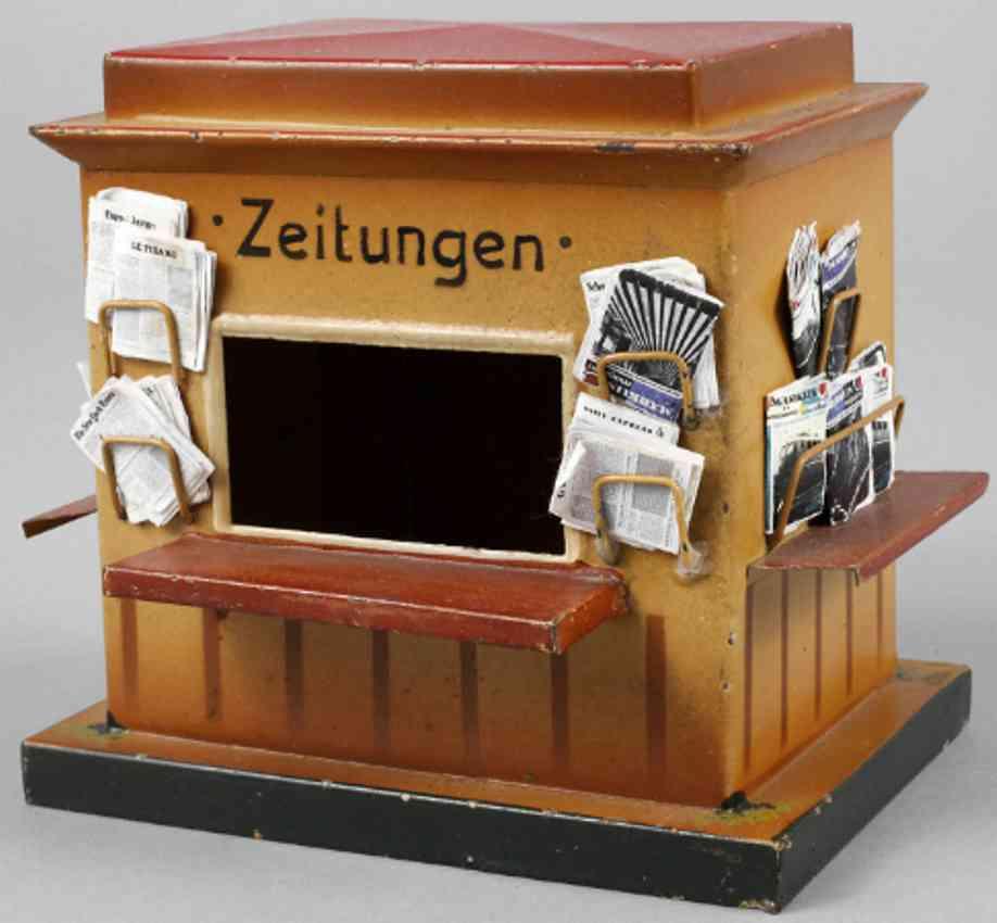 kibri 60/6 railway toy newspaper kiosk zeitungen