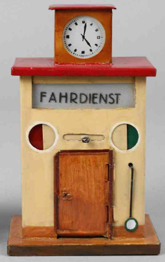 kibri 62/3 railway toy dispatchers house clock tower two discs