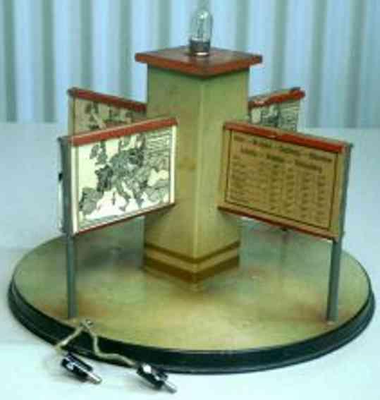Kibri 79/6 round timetable rack