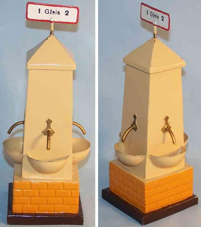 Kibri Eisenbahnbrunnen mit vier Waschbecken