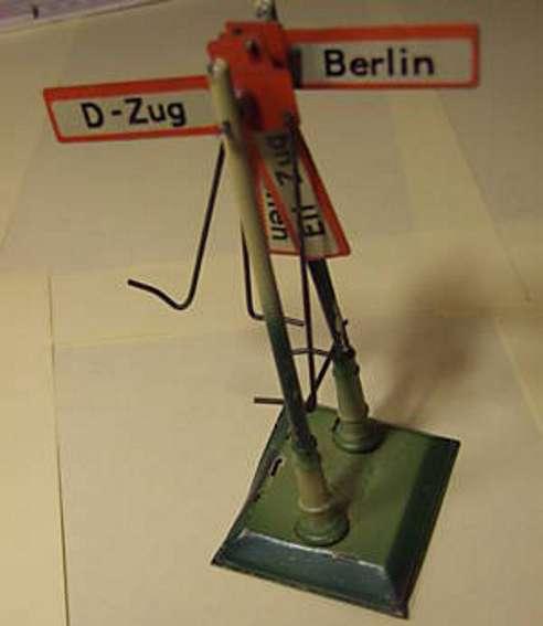 kraus-fandor 2003/2 spielzeug eisenbahn fahrtrichtungsanzeiger 4 schilder