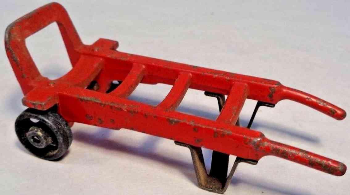 lionel 157 spielzeug eisenbahn handkarre zwei raeder rot