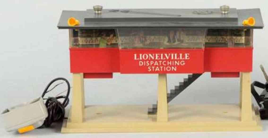 lionel 465 spielzeug eisenbahn ansagestation mit lautsprecher und mikrofon