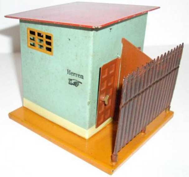 maerklin 2598 spielzeug eisenbahn toilette mit schutz- und zwischenwand