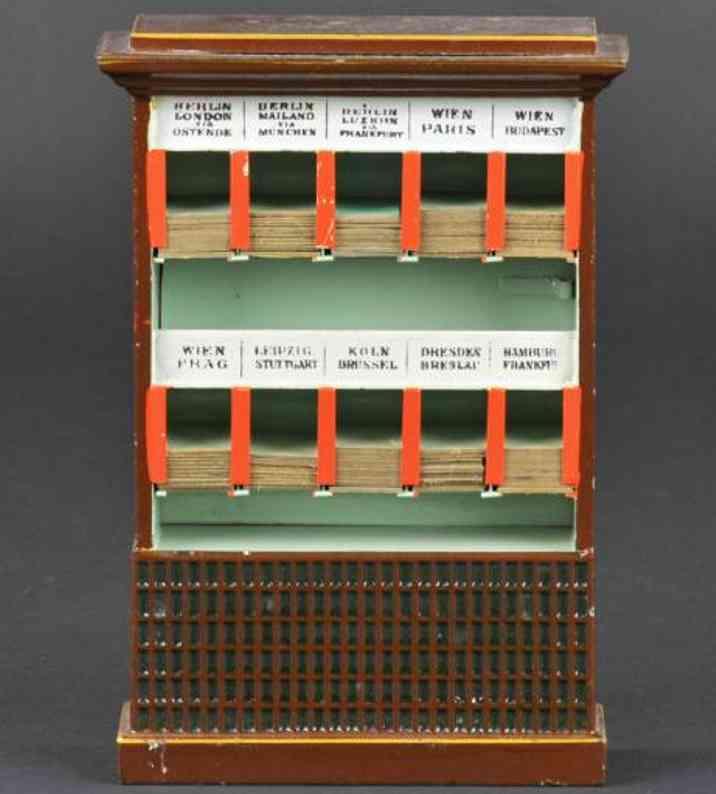 marklin 2659 spielzeug eisenbahn fahrkartenschrank für internationale strecken mit 10 faechern