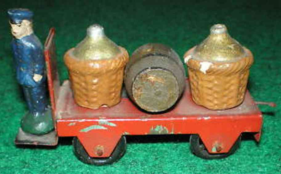 maerklin 2682/1 g spielzeug eisenbahn zubehoer bahnsteig-elektrokarre
