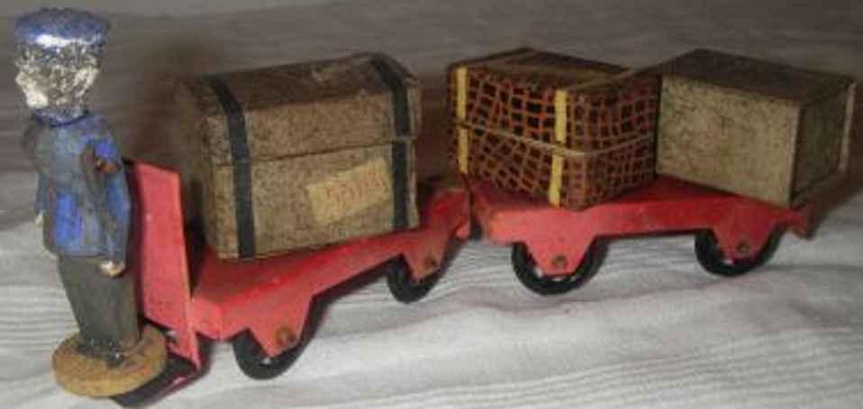 maerklin 2682/2 g spielzeug eisenbahn zubehoer bahnsteig-elektrokarre