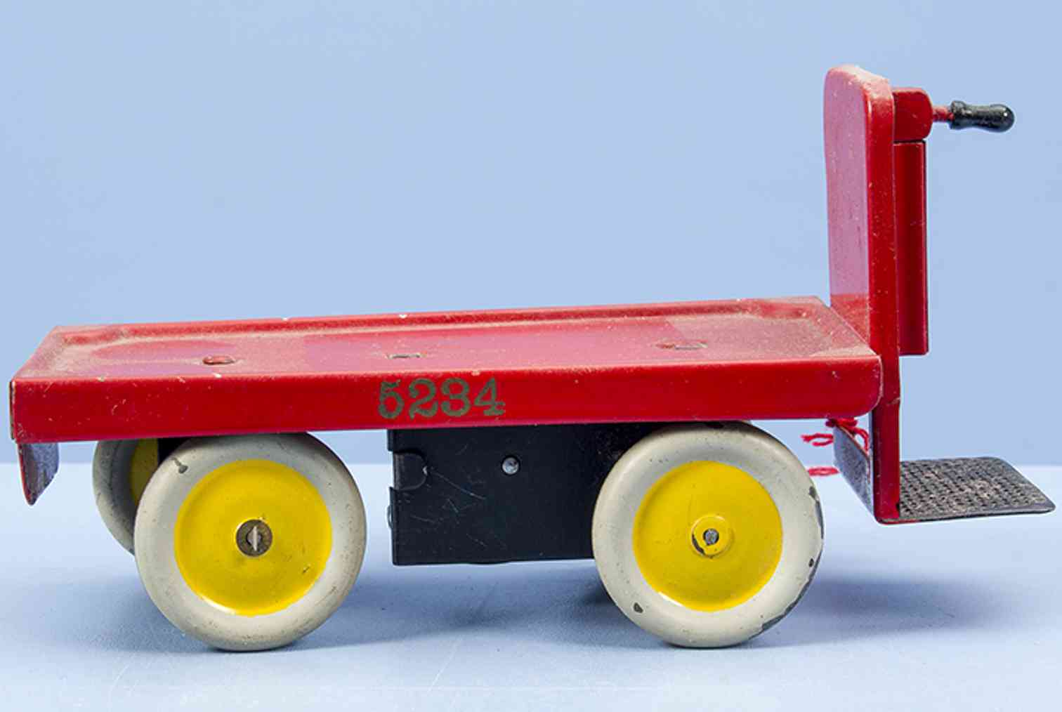 marklin maerklin 5234 railway toy electric trolley #5234 with clockwork drive, made of sheet m