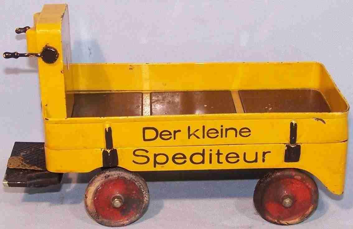 maerklin 5235 spielzeug eisenbahn zubehoer elektrokarre der kleine spediteur