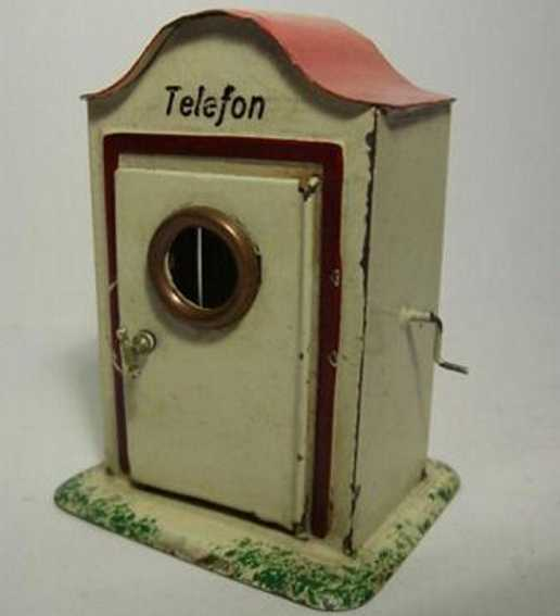 plank ernst 927 kibri 770 railway toy telephone box